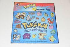 Sealed 1999 Pokemon Gotta Catch Em All Computer Mouse Pad Pikachu Nintendo NIP