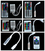 24 44 Key Mini IR Remote Controller For RGB 3528 and 5050 LED Light Strip 12V