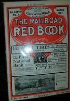 Vintage The Railroad Red Book Denver & Rio Grande Western No. 3 March 1921