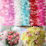 5m Faux Pearl Beads String Fishing Line Chain Wedding Flower Garland Decor Craft