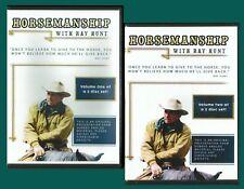 Horsemanship with Ray Hunt - 2 DVD Set, Vol.1 & 2 - BRAND NEW