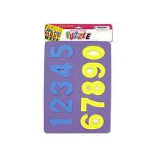 Soft Alphabet & Lot of 24 Units Number Foam Puzzle Amusement for Kids