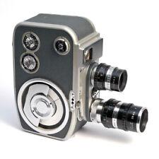 Cinamax-8 Federwerk-Filmkamera mit 2 Objektiven * D-mount springdrive camera 8mm