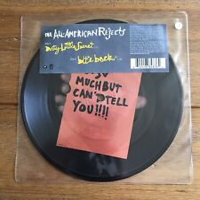 """The All American Rejects - Dirty Little Secret  7"""" Picture Disc Vinyl"""