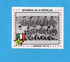 PANINI CALCIATORI 1979/80-Figurina n.364- SQUADRA JUVENTUS 1957/58 -Recuperata