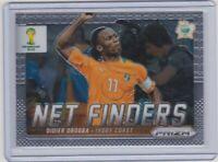 Didier Drogba Panini PRIZM World Cup Brazil 2014 Net Finders #8