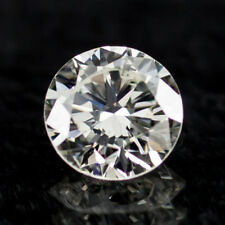 0.58 Carat Loose J/ VS2 Round Brilliant Cut Diamond GIA Certified