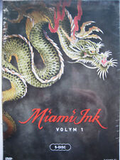 Miami Ink Complete Series 1 (DVD, 2006, 5 Disc Set) Nordic Packaging NEW SEALED