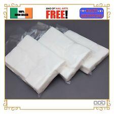 Lint Free Nail Wipes 600Pcs Polish Acrylic UV Gel Remover Cotton Pads Cleaner EU