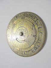 6437 Ewiger Kalender 1922-1943 Bank der Arbeiter Angestellten Beamten AG Dresden