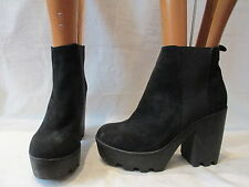 River Island Women's Block High Heel (3-4.5 in.) Pull on Boots