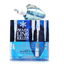 2 BATH & BODY WORKS WALLFLOWERS SPARKLING ICICLES HOME FRAGRANCE REFILL BULBS