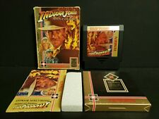Indiana Jones and the Temple of Doom (Nintendo) NES Complete Boxed CIB