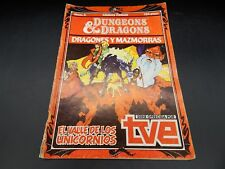 vintage Dungeons & Dragons cartoon series comic book #2 Spain 1985 Comics Forum