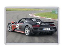 Porsche 918 Supercar Fridge Magnet Birthday Fathers Mothers Day Christmas Gift