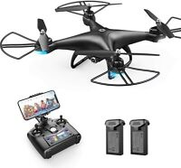 Holy Stone HS110D FPV RC Drone with 1080P HD Camera WiFi Quadcopter 2 Batteries
