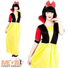 Snow White Princess Ladies Fancy Dress Fairytale Book Week Womens Adult Costume