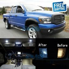 White LED Lights Interior Package Kit For 2006-2008 Dodge RAM 1500 2500 3500