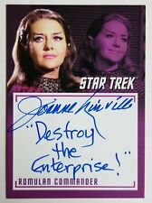 Star Trek TOS The Captains Collection A15 Joanne Linville autographed card
