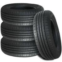 4 Lionhart LH-501 195/55R16 87H All Season Traction Performance Passenger Tires