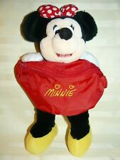 Disney Minnie Mouse Purse Plush 11""