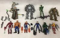 10 Action Figures Hasbro, Marvel Iron Man, Hulk, Fantastic Four, Doc Ock lot