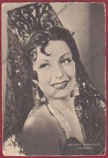VIVIANE ROMANCE 02 ATTRICE ACTRESS CINEMA MOVIE - FRANCE Cartolina 1939