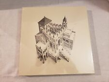 SEALED M. C. ESCHER ASCENDING AND DESCENDING LITHOGRAPH PUZZLE READ DESCRIPTION