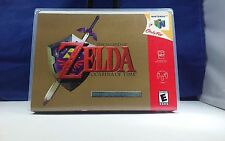 Legend of Zelda Ocarina of Time Collectors  N64 Game Case with Artwork *NO GAME*