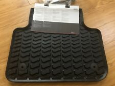 AUDI Q7 2015> Onwards, Rear Rubber Floor Mats  4M0 061 511 041 BRAND NEW GENUINE