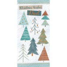 Christmas Card (Single) - Dad - Christmas Tress