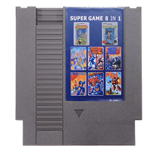 8 in 1 Mega Man 1-6 Castlevania 1-2 - Simon's Quest  - NINTENDO NES GAME