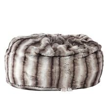 Faux Fur Luxury Furry Memory Foam Bean Bag Chair w/ Sponge Filling