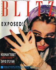 BLITZ Magazine #44 August 1986 Exposed PETER MOSS David Sylvian PAUL COSTER @vgc