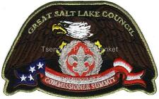 Great Salt Lake Council SA-NEW 2013 Gold bdr Commissoner Eagle CSP FREE SHIPPING