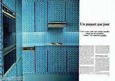 PUBLICITE ADVERTISING 066  1978  les  appareils de cuisine Scholtès (2p  Gitanes
