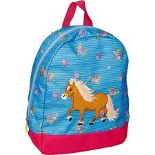 Spiegelburg Kindergartenrucksack Kinderrucksack Pferd Pferdchen blau 14645 neu