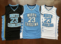 Michael Jordan #23 Vince Carter #15 North Carolina Tar Heels Basketball Jersey