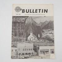 NMRA Bulletin Magazine July 1970 National Model Railroad Association Publication