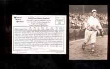 1987 Conlon JACK JOHN PICUS QUINN New York Yankees Sporting News Card