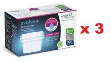 9 x Aqua Optima Evolve+ 30 Day Water Filter Cartridge Refill Fits Brita Maxtra+
