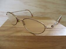 1d38855730ce Christian Dior authentic gold metal bead oval sunglass eyeglasses frames 48  20