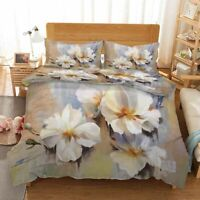 Magnolia Branch 3D Printing Duvet Quilt Doona Covers Pillow Case Bedding Sets