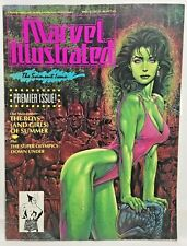 Marvel Illustrated Magazine Swimsuit Issue 1991 Premier Issue She Hulk