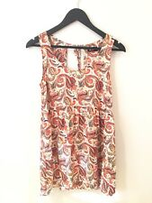 Dotti Size 8 Paisley Shift Dress