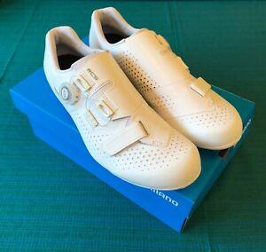 Shimano RC5 - White Cycling Shoes - Size 44 - BOA - SH-RC500 - SPDSL