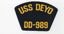 USS Deyo DD-989 BC Patch Cat. No. P1120