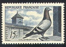 France 1957 PIGEON/BIRDS/nature 1 V (n32786)