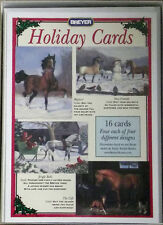 Breyer 702801 Original Horse Holiday Christmas Cards 16 Pack -  4 Designs  NIB