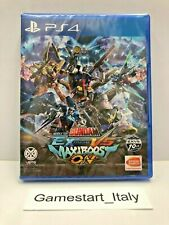 MOBILE SUIT GUNDAM EXTREME VS MAXIBOOST ON - SONY PS4 - NEW SEALED REGION FREE